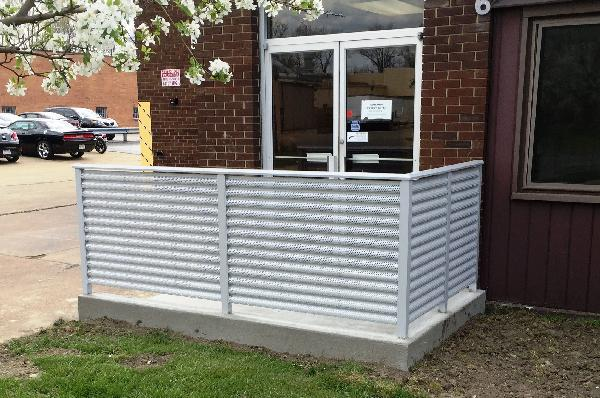Perforated Metal Railing Systems - Perforated Metal Railing Systems