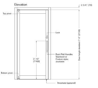 Pivot Door Revit & Drawing Hinged And Pivot Doors Sc 1 St
