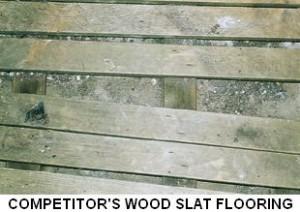 Sanitary Super Dek Flooring for Saunas