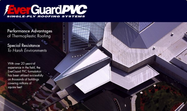 EverGuard® PVC Single-Ply Roofing Systems