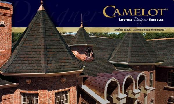 Camelot® Lifetime Designer Asphalt Shingles