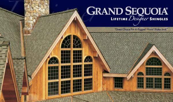 Grand Sequoia® Lifetime Designer Asphalt Shingles