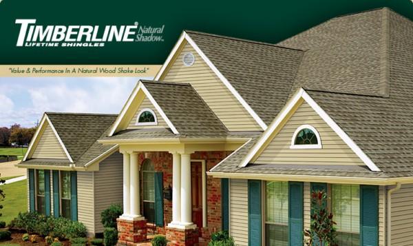 Timberline® Natural Shadow™ Lifetime Shingles