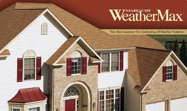 Marquis® WeatherMax® 3-Tab Asphalt Shingles