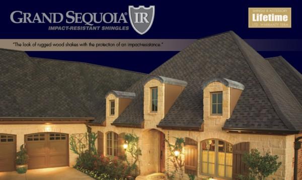 Grand Sequoia IR® Lifetime Designer Asphalt Shingles