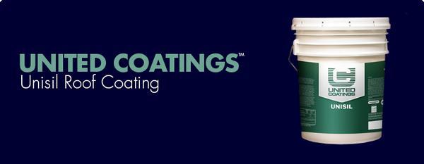 United Coatings™ Unisil Roof Coating