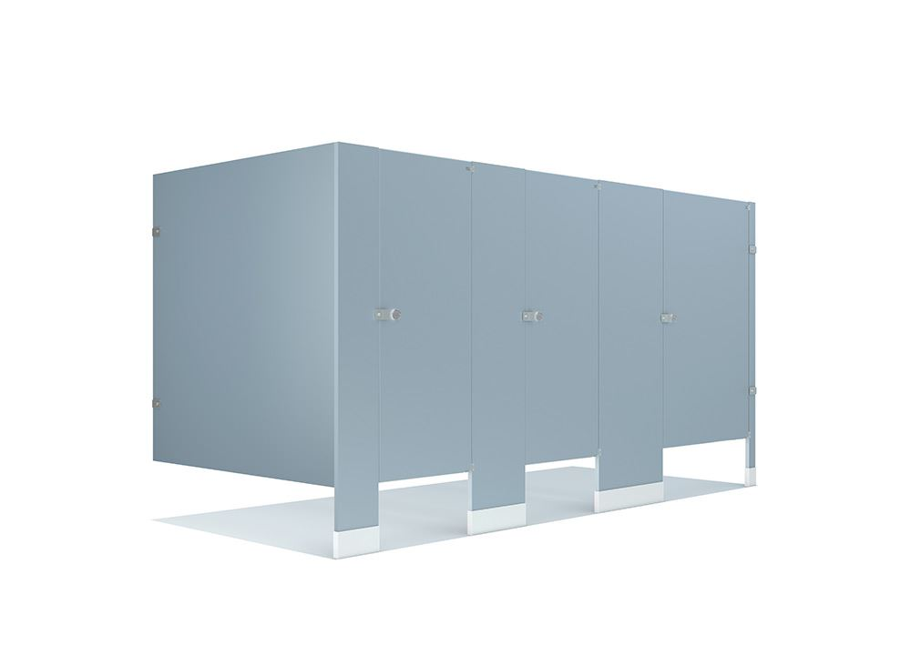 Color Thru Solid Phenolic Core Toilet Partitions General