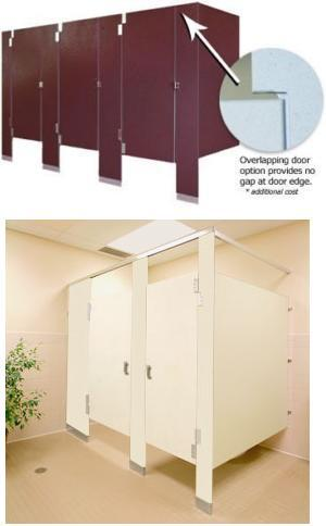 Solid Phenolic Core Toilet Partitions General Partitions Mfg Corp - Phenolic bathroom partitions