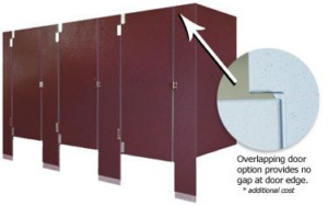 Color-Thru Phenolic Toilet Partitions