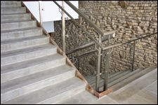 Decorative Metal and Glass Railing Systems