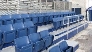I-Beam Design Grandstands