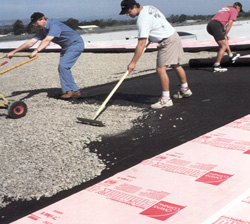 Ballasted PRMA / Concrete Deck Insulation