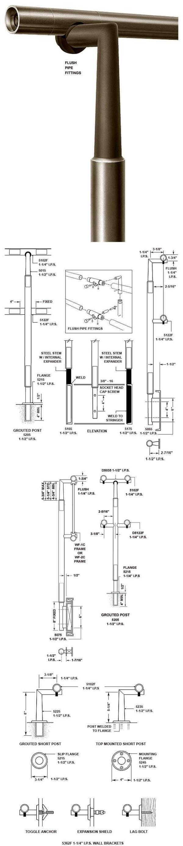 Aluminum Pipe Rail Series 5000