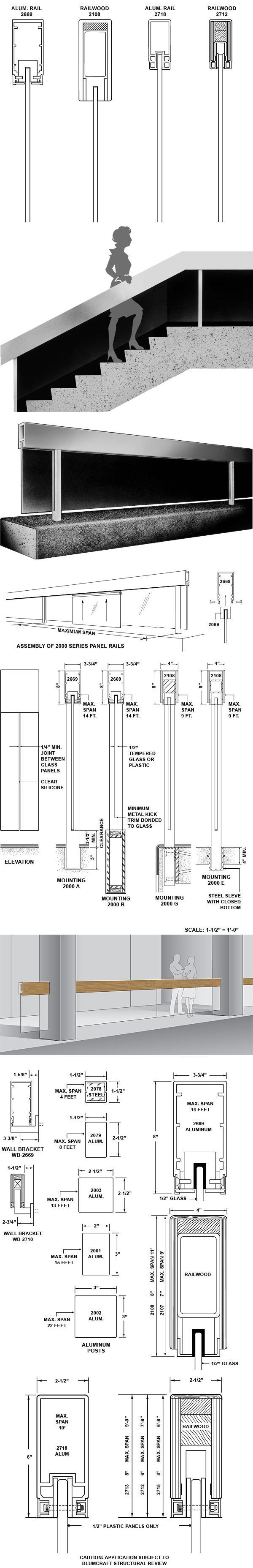 Suspended Panel Rail Series 2000
