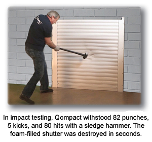 Qompact® Rolling Security & Storm Shutters