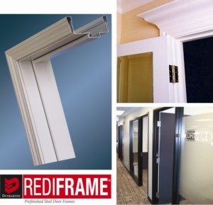 RediFrame Pre-Finished Steel Door Frames