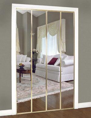 Slimfold Bifold And Overlay Mirrored Doors