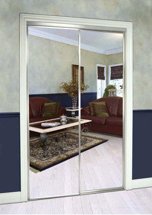 Slimfold Sliding Mirrored Doors Dunbarton Corporation