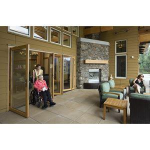 Folding Glass Walls - WD65 - Wood – NanaWall Systems, Inc