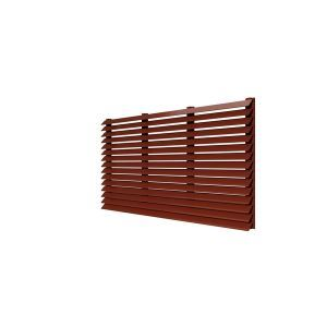 architectural decorative louver ptac wall application ael 42