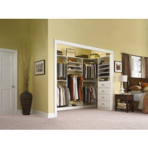 Rubbermaid Building Products Wood Closet Storage Systems