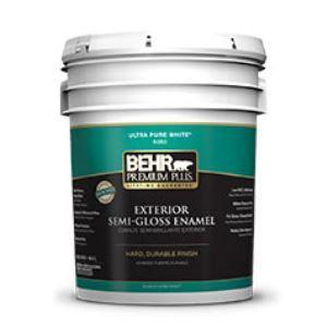 premium plus exterior semi gloss enamel paint no 5050 behr