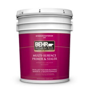 Premium Plus Interior Exterior Multi Surface Primer Sealer No 436 Behr Process Corporation Sweets