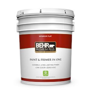 PREMIUM PLUS® Interior Flat Paint No. 1050 U2013 Behr Process Corporation    Sweets