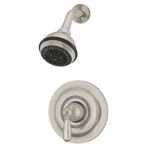 Symmons Industries Inc Symmetrix Single Handle Centerset Lavatory Faucet S 20 2 Stn 1 5
