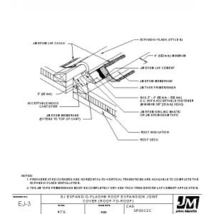 Johns Manville Roofing Systems Cad Construction