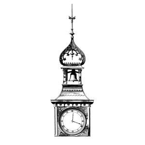 HBW-CL02 Clock Tower – Historical Bronze Works - Sweets