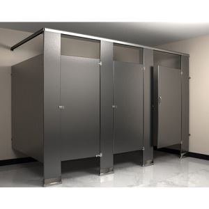 Flushite Powder Coated Toilet Partitions Flush Metal Partitions - Custom bathroom partitions