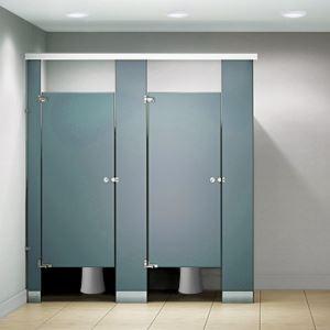 Flushite Plastic Laminate Toilet Partitions Flush Metal Partitions - Laminate bathroom partitions