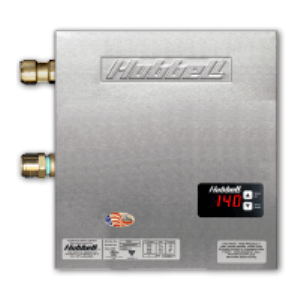 Model Hx Tx Tankless Electric Water Heater Hubbell