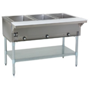 Stationary Electric Hot Food Tables Open Base Eagle Group Sweets - Electric hot food table
