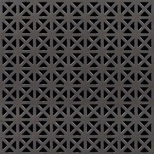 Mcnichols Co Designer Metals Perforated Grecian Carbon Steel Cs 16840022m2