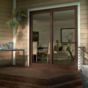 Vinyl French Style Sliding Patio Doors   Tuscany Series U2013 Milgard Windows U0026  Doors   Sweets