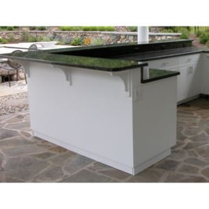 Outdoor Bar Cabinet - Werever Waterproof Cabinetry - Sweets