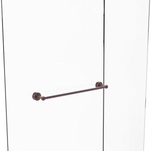 Dottingham Collection 18 Inch Shower Door Towel Bar Antique Copper