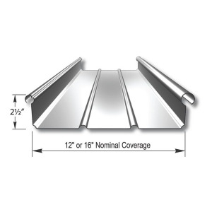 Zip Rib Structural Standing Seam Metal Roof And Wall Panel