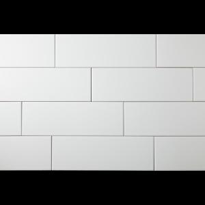 Manhattan 4 X 12 Snow White Matte Subway Tile South Cypress