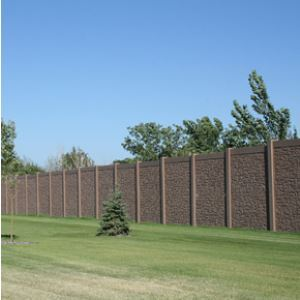 Concrete Noise Barrier Walls and Sound Barrier Fencing – AFTEC, LLC