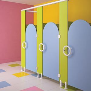 Alpaco Kids Collection Toilet Partitions ASI Global Partitions - Asi bathroom partitions