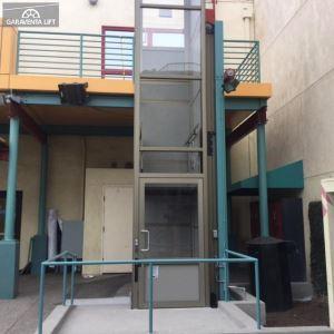 garaventa lift - genesis enclosure - vertical platform lift