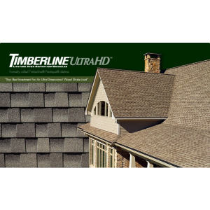 Timberline Ultra HD Lifetime High Definition Asphalt Shingles