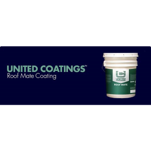 United Coatings Roof Mate Coating Gaf Sweets