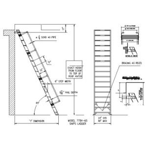 Ships Ladder Dwg Files Pictures To Pin On Pinterest