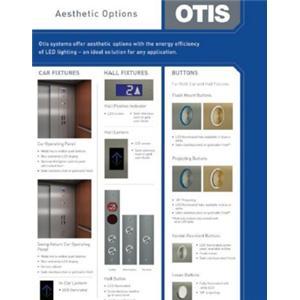 Otis elevator company catalogs construction building for Elevator options