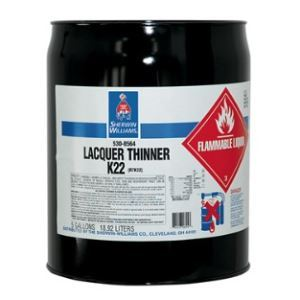 Sherwin-Williams Lacquer Thinner K22 – Sherwin-Williams Company - Sweets