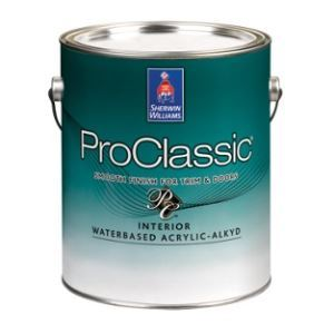 Charmant ProClassic Interior Waterbased Acrylic Alkyd U2013 The Sherwin Williams Company    Sweets